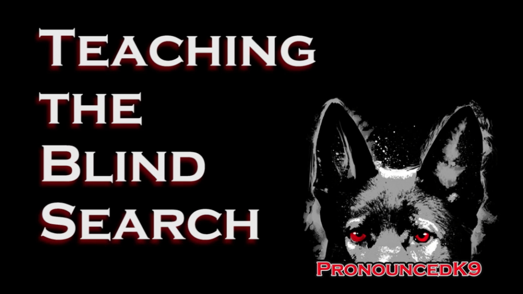 Teaching the Blind Search